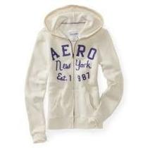 Sweter Aeropostale Original Blanco Talla Xl