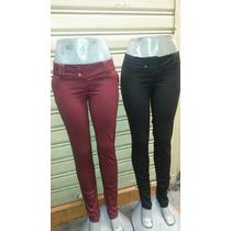 Pantalones Casuales De Drill De Dama Varios Colores