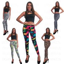 Legguins Pantalones Para Dama Monos De Moda Strech.