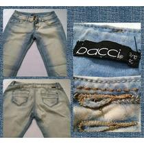 Pantalones De Jeans Para Damas Studio F, Bonage, Bacci--