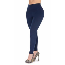 Pantalones Leggins Altos Gorditas Unicolor Tela Gruesa 2x