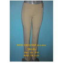 Pantalon De Dama Strech De Vestir Excelenle Calidad Importad