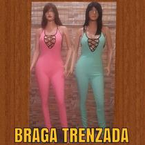 Bragas Largas Trenzadas Talla Unica Y Conjunto De Faldas