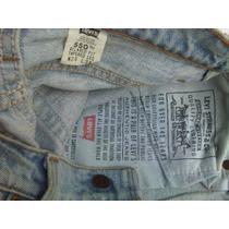 Pantalones Levis Originales Damas Mod 550 Y 505 Tela Gruesa