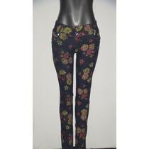 Bellos Blue Jeans Estampado Studio F Para Dama Talla 8 Y 10