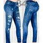 Leggins Tipo Jeans Americanos
