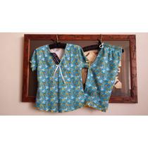 Pijamas Capri Talla 18 Talla L Jovencitas 100% Algodonperu