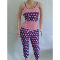 Conjunto Pijama Algodon Dama Moda Original