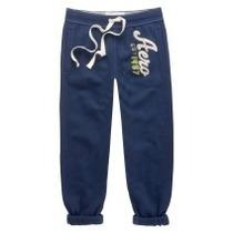 Pantalon Mono Capri Azul Talla L Aeropostale Original!!!