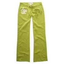 Pantalon Mono Verde Limon Talla L Aeropostale Original!!!