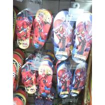 Cholas Cotizas Sandalias Cars Spiderman Avenger Ben10