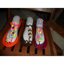 Sandalias Decoradas Con Zarcillos