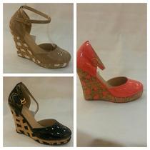 Zapatos Cuñas De Damas