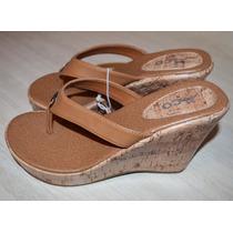 Vendo Lindas Sandalias Importadas De Corcho Talla 37
