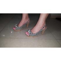 Sandalias Con Tacones Para Dama Corchonuevo Varios Colores
