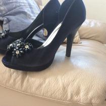 Zapatos Altos Azules Nuevos