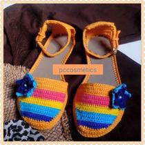 Sandalias, Zapatos Tejidos Damas, Niñas
