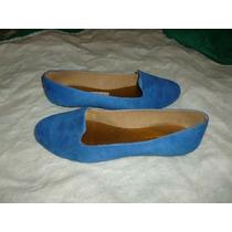 Sandalia De Damas, Talla 40, Color Azul, Marca Leal Style