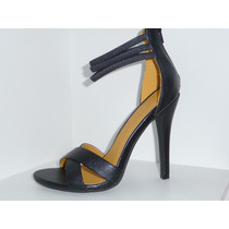 Tacones Sandalias Zapatos Negras Shoe Republic
