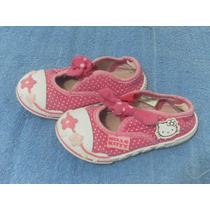 Hermoso Zapatos Hello Kitty Numero 23