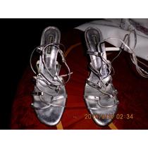 Sandalias Plateadas #39 Mario Nardi Bs2.500
