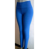 Leggins Cotton Lycra Talla Plus Hasta 2xl Tela Gruesa Pima