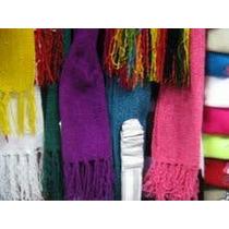 Bufandas Tejidas. Unisex. Hechas En El Ecuador