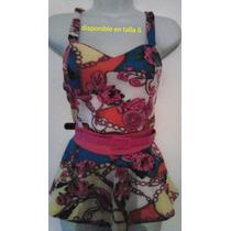 Camisa De Dama Corte Princesa Estampada Salvaje