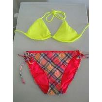 Traje De Baño Victorias Secret Top Talla M Panty Talla L