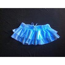 Mini Falda Doble Pareo Playero Vestido Traje De Baño Ropa De