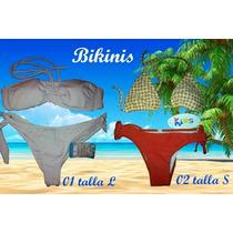 Trajes De Baño Para Dama Bikini Y Semi Hilo Calidad.