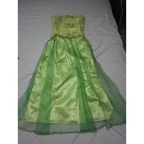 Vestido Juvenil Largo Elegante De Fiesta
