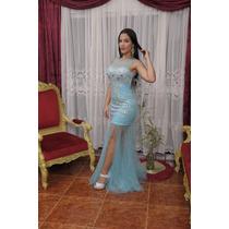 Vestido De Fiesta Matrimonio Boda Graduación Quinceaños