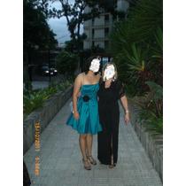 Vestido De Fiesta Juvenil, Talla M,usado Una Sola Vez