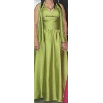 Vestido Elegante De Noche Largo Excelente Calidad Talla M