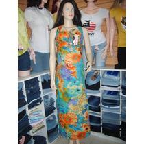 Vestido Largo Materno Est. Tallas S, M, Y L. Mayor Y Detal..