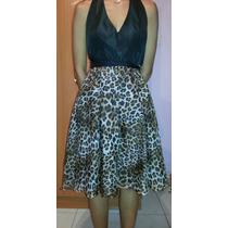 Vestido De Fiesta, Tipo Coctel, Zara Original, Usado