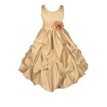 Vestido De Fiesta Cortejo De Gala Para Ninas Talla 2