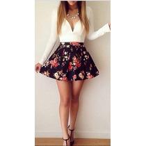 Vestido Corto Dama Talla Xl Asiatica