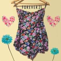 Braga Floreada Vestido Short Marca Forever21 Original Moda