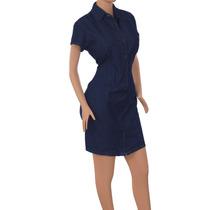 Vestido Jean Diseño Original A La Moda. Casuales Ref: 1706