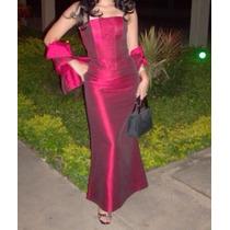 Elegante Vestido Largo Para Fiesta