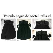 Vestido Negro De Coctel Talla Xl Gordita Con Estilo Plus