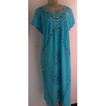 Vestido Indu Largo Rayon Frescos Casual Playeros Prenatal