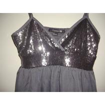 Vestido Corto De Noche Para Dama Forever 21 Xii Talla S