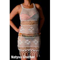 Vestidos Playeros Tejidos A Mano, Natyva Crochet.