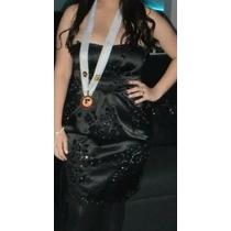 Vestido Negro Corto, Elegante, Coctel, Fiesta, Graduación.