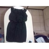 Lindo Vestido Negro Corto Para Fiesta O Coctel