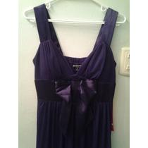 Vendo Hermoso Vestido Corto De Noche Color Violeta Nuevo