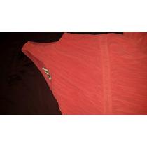Hermoso Vestido De Coctel Color Naranja Brillante Talla M
